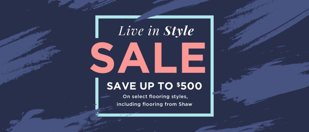 Live in style sale | Bassett Carpets