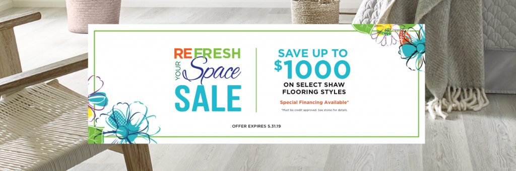 Refresh Your Space Sale | Bassett Carpets