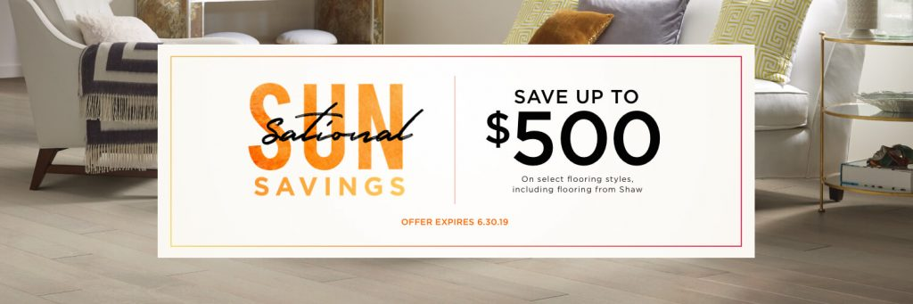 Sun Sational Savings | Bassett Carpets