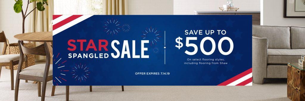 Star Spangled Banner Sale | Bassett Carpets