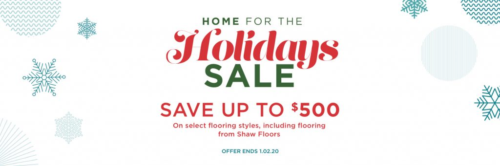 Home for the holidays sale | Bassett Carpets