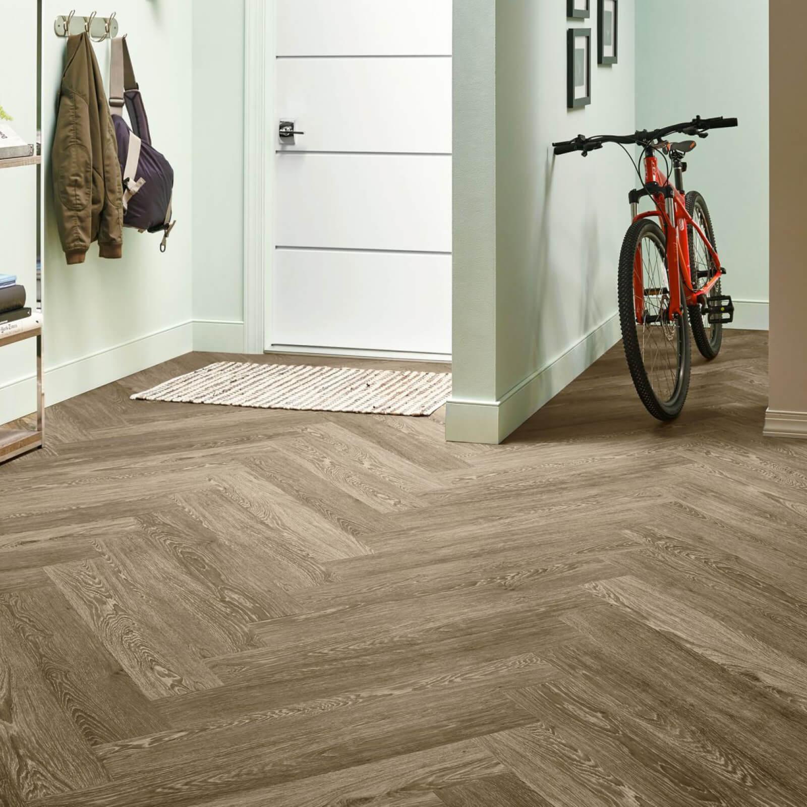 Bicycle on flooring | Bassett Carpets