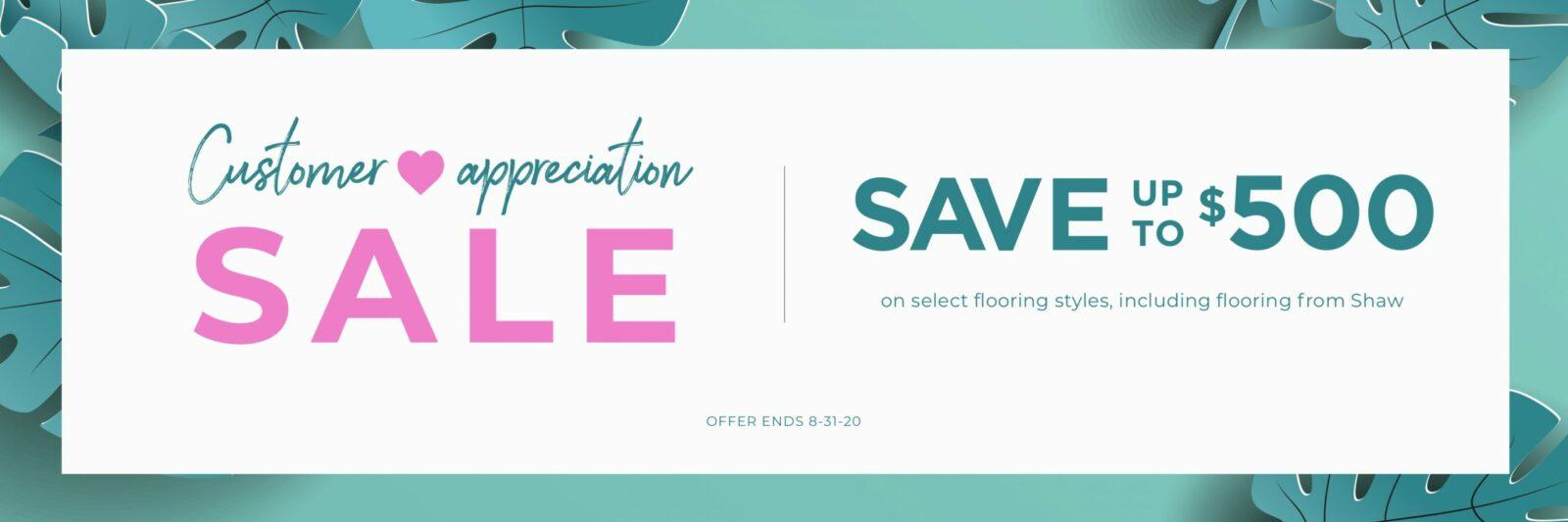 Customer Appreciation Sale | Bassett Carpets