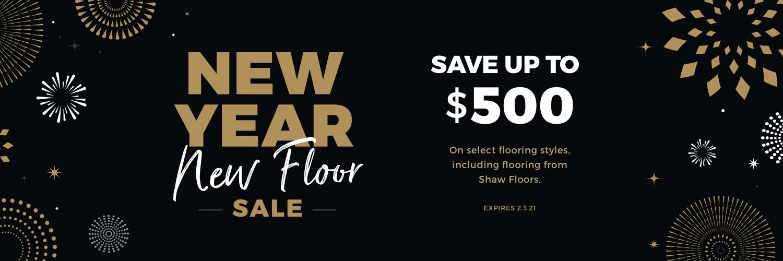 New Year New Floors Sale | Bassett Carpets