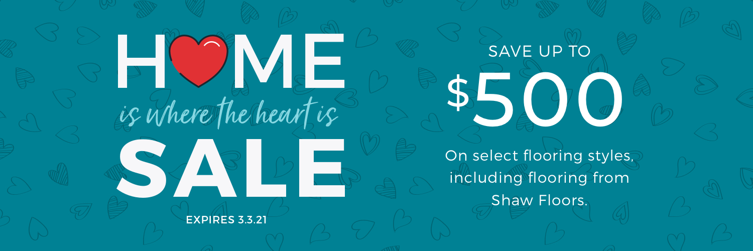 Home is Where the Heart is Sale | Bassett Carpets