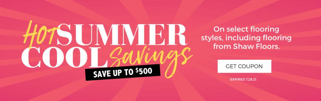 Hot Summer, Cool Savings   Bassett Carpets