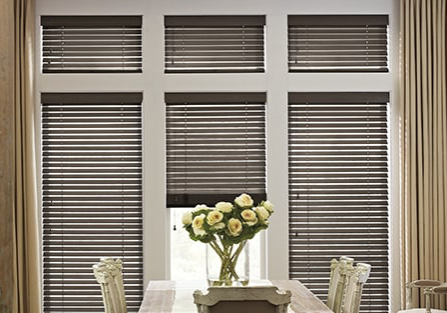 wooden blinds parkland